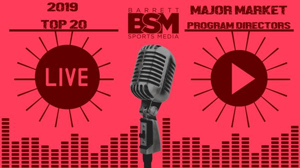BSM's Top 20 Major Market Program Directors of 2019