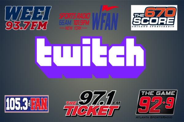 Entercom and Twitch Strike Distribution Deal Involving Sports Radio Brands  | Barrett Media
