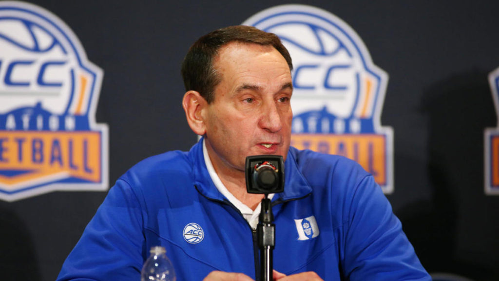 Coach K Tells Keyshawn, JWill & Zubin NCAA Can't Lose March Madness