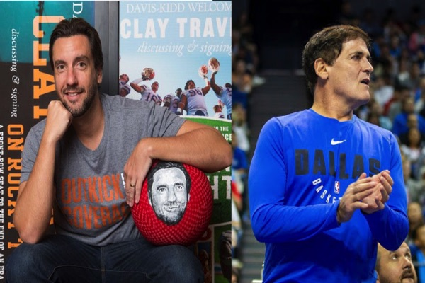 Mark Cuban, Clay Travis Feud Over NBA Ratings Continues